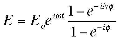 equation for diffracted electric field
