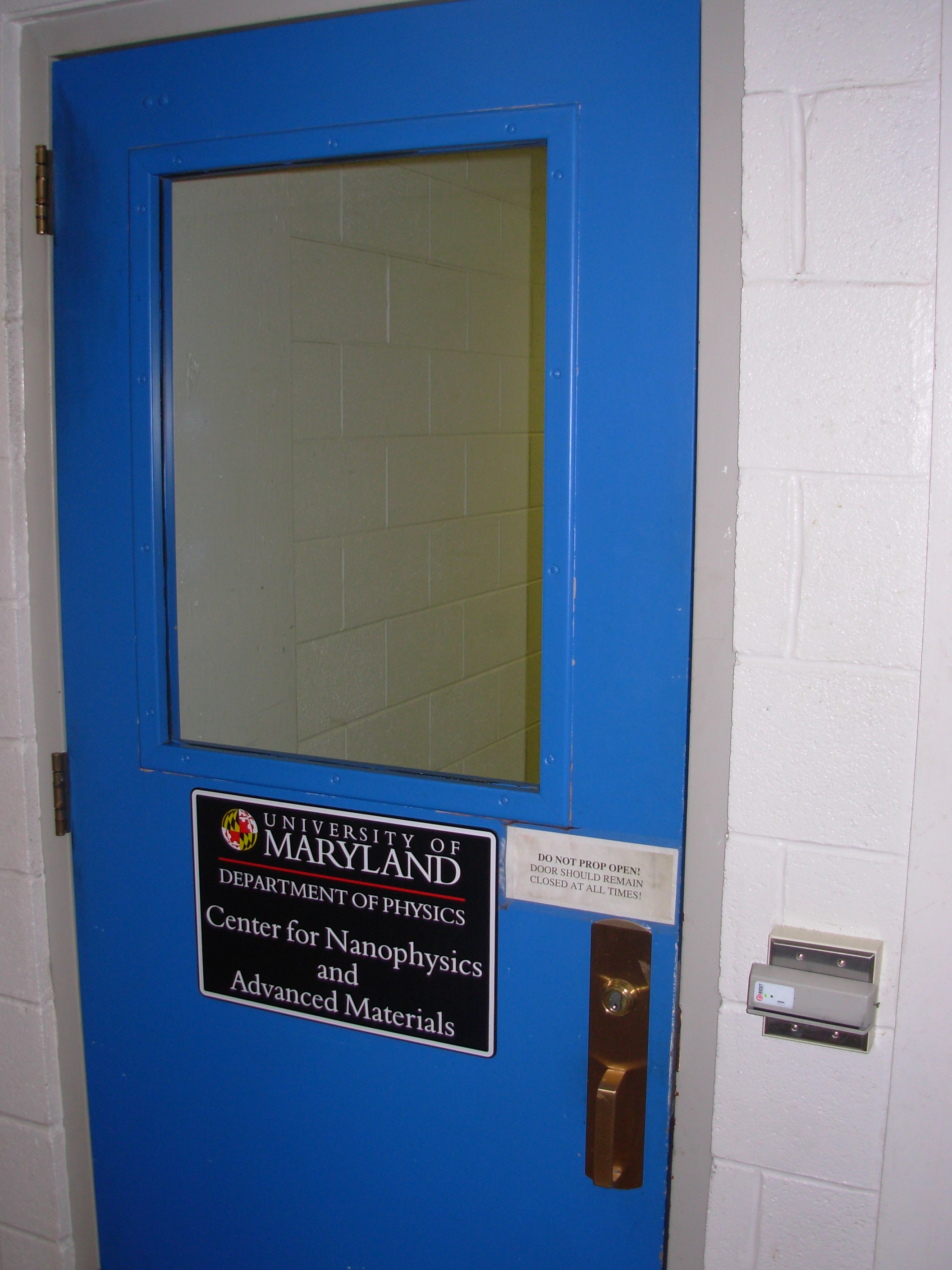 Open classroom door Decor Across The Hallway You Will See The Blue Portal Of Knowledge Weareteachers Phys 410 Finding Prof Anlages Office
