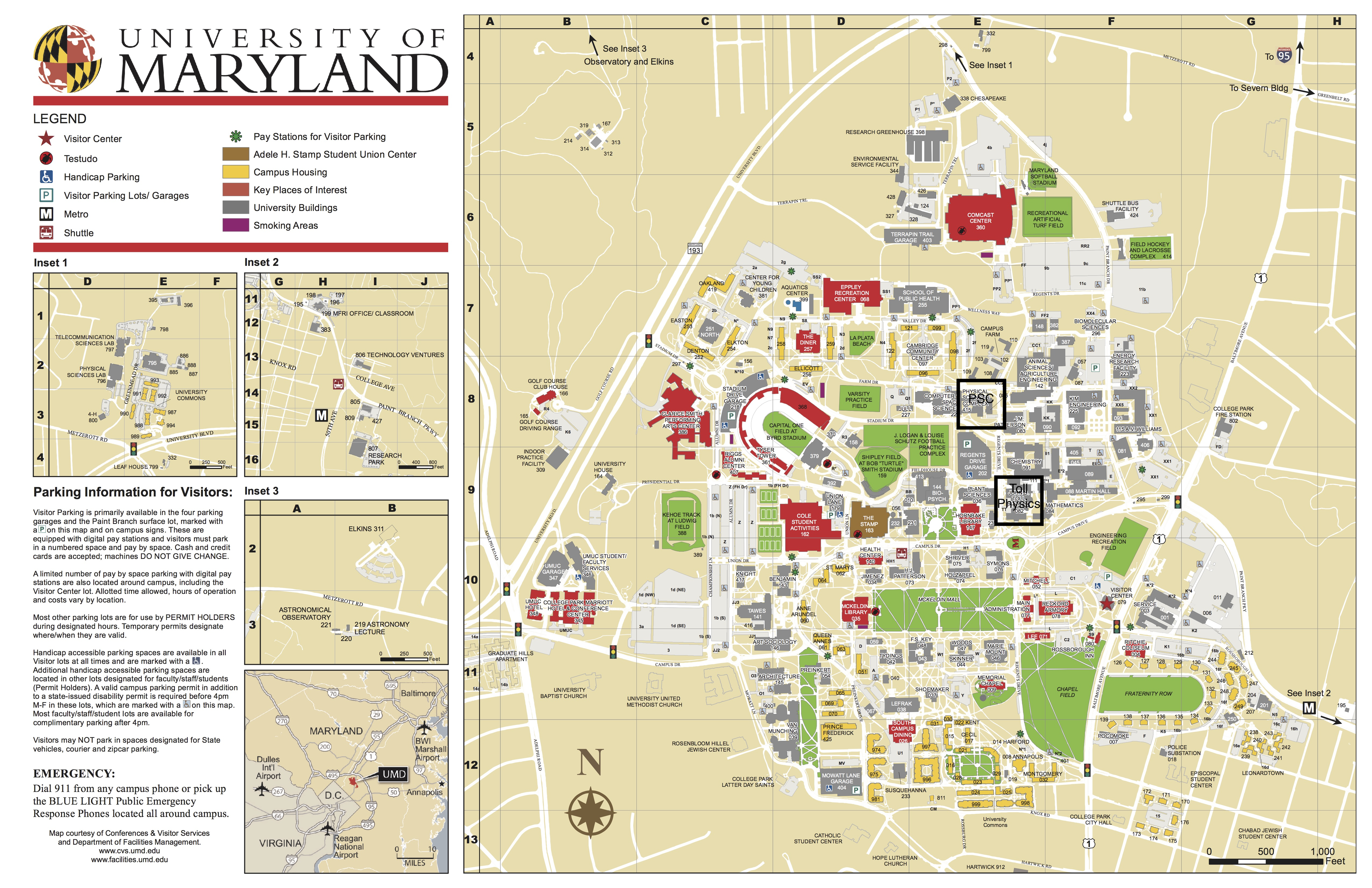 umd map of campus Professor Drew Baden Physics Dept University Of Maryland umd map of campus